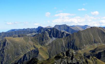 fagaras mountains ridge